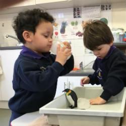 Learning's an adventure in the Lower Nursery
