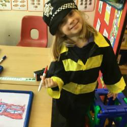 Learning's a fun adventure in Upper Nursery