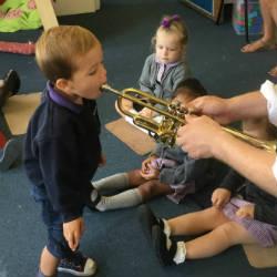 Creativity through musical expression