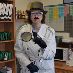 Inspector Clouseau visits on World Book Day