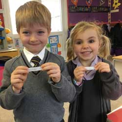 Reception children discover another culture