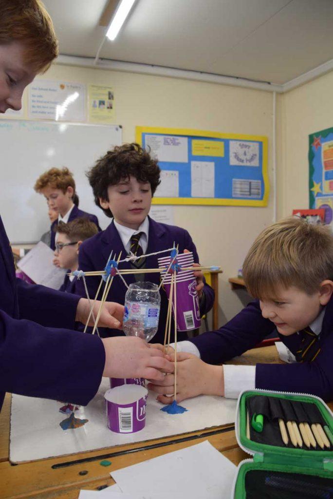 St Faith's pupils steam ahead with learning