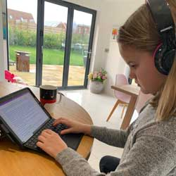 Remote Learning: A parent's perspective.